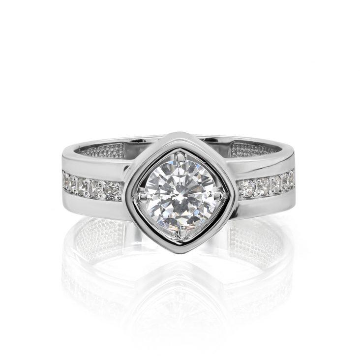 Кольцо 11-340-7900 серебро