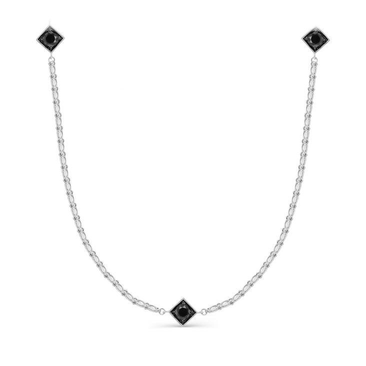 Колье 6-028-8189 серебро