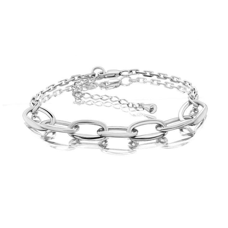 Браслет 14-301-0000 серебро