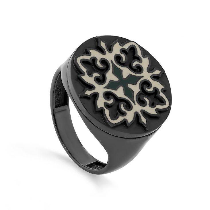 Кольцо 11-328-0001 серебро
