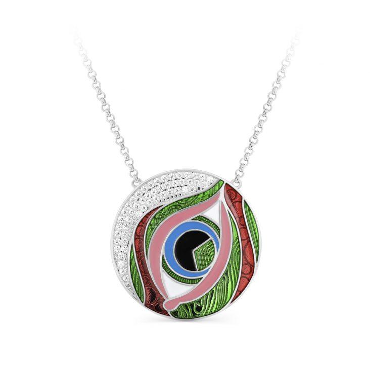 Колье 6-031-7901 серебро