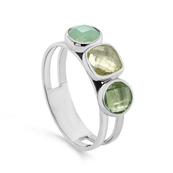 Кольцо 11-326-0100 серебро