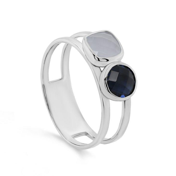 Кольцо 11-325-0100 серебро
