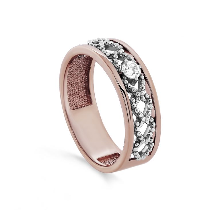 Кольцо 11-01392-1000 золото