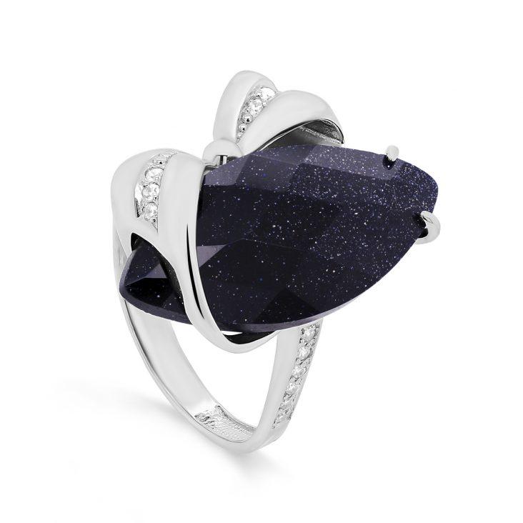 Кольцо 11-265-1300 серебро