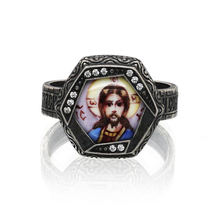 Кольцо 1-083-7983 серебро