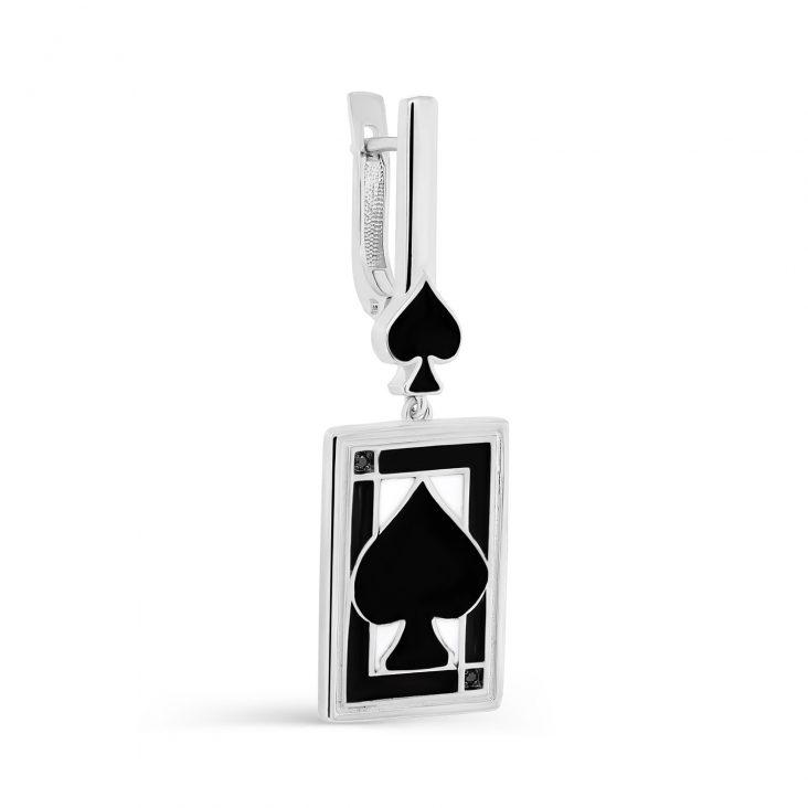 Серьги 2-094-41001 серебро
