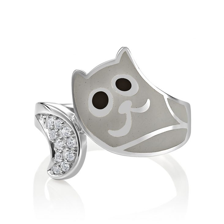 Кольцо 1-002-7919 серебро