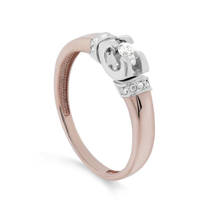 Кольцо 11-01433-1000 золото