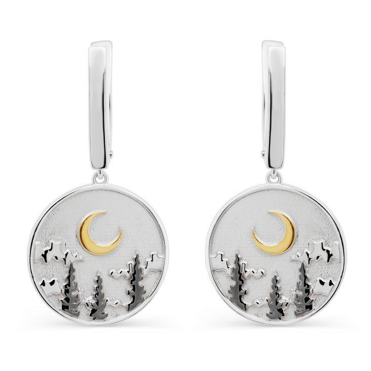 Серьги 12-350-0081 серебро
