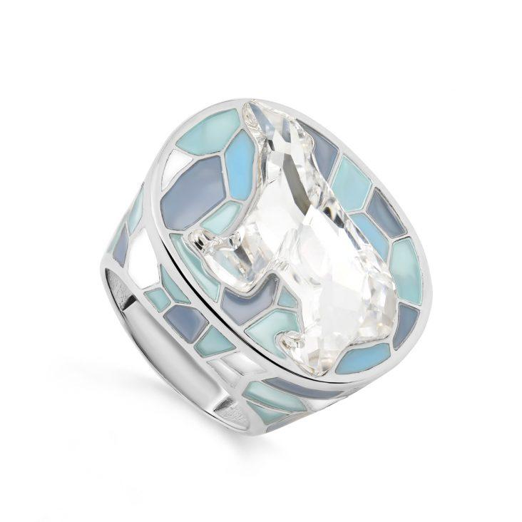 Кольцо 1-127-8101 серебро