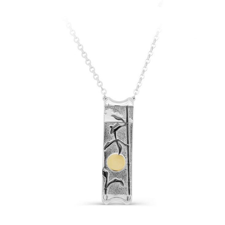 Колье 16-349-0081 серебро