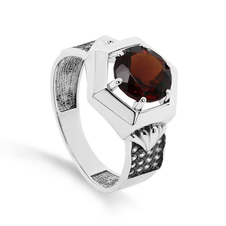 Кольцо 11-382-50389 серебро