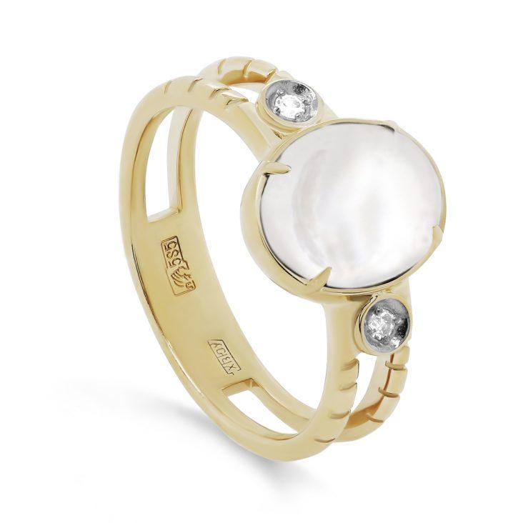 Кольцо 11-21386-6200 золото