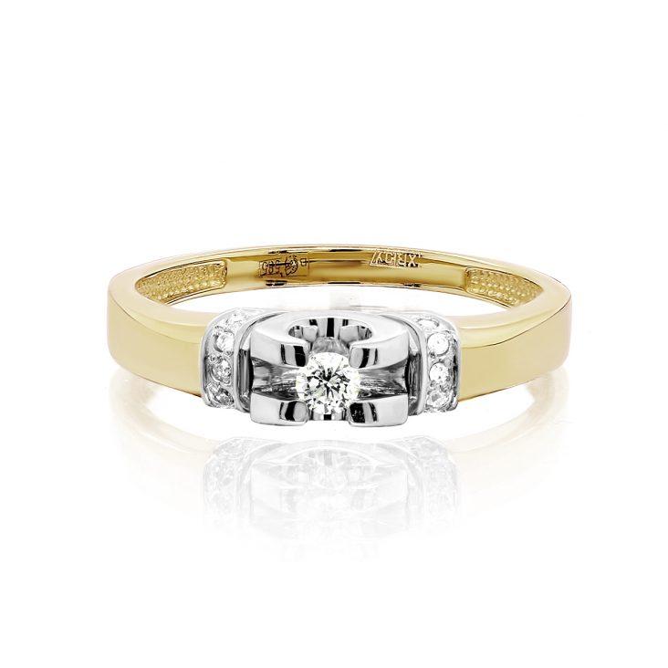 Кольцо>Кольцо,11-21433-1000,Золото>Желтое/лимонное золото