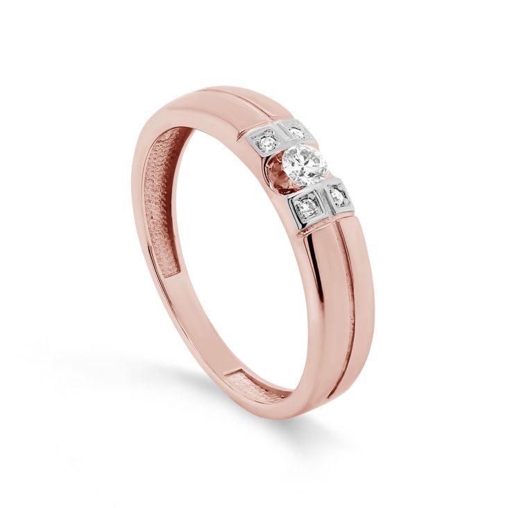 Кольцо>Кольцо,11-01448-1000,Золото>Красное золото