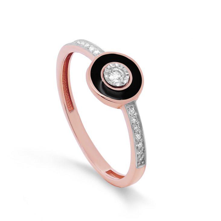 Кольцо>Кольцо,11-01500-1002,Золото>Красное золото