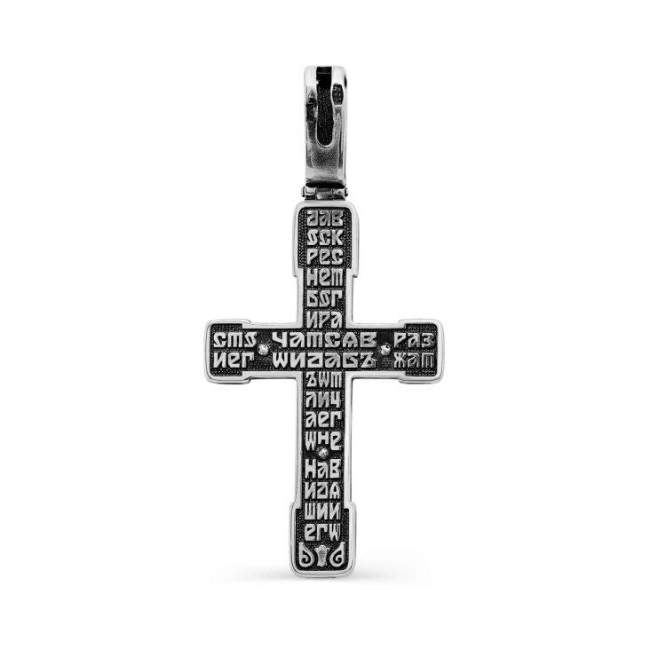 Крест,3-268-0089,Серебро