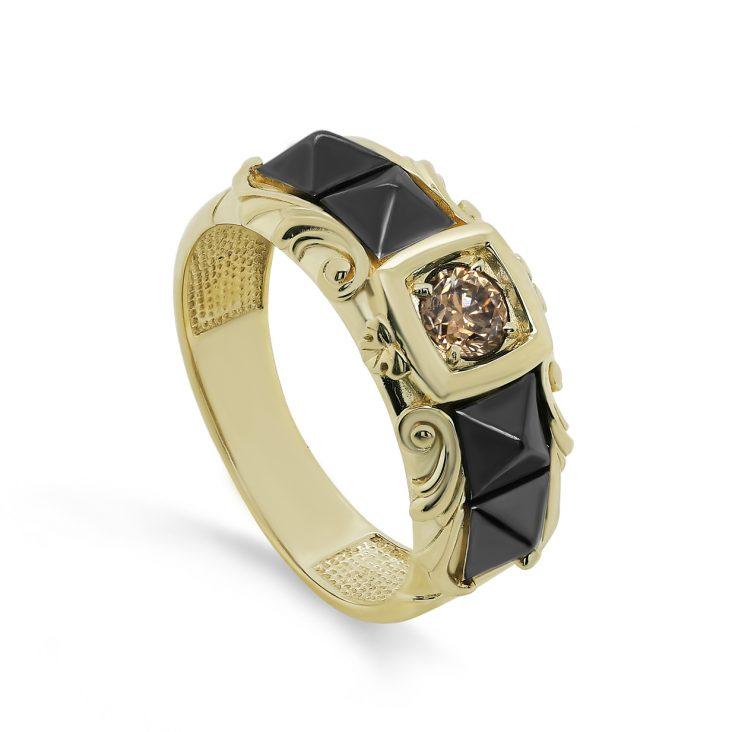 Кольцо>Кольцо,11-21520-6089,Золото>Желтое/лимонное золото